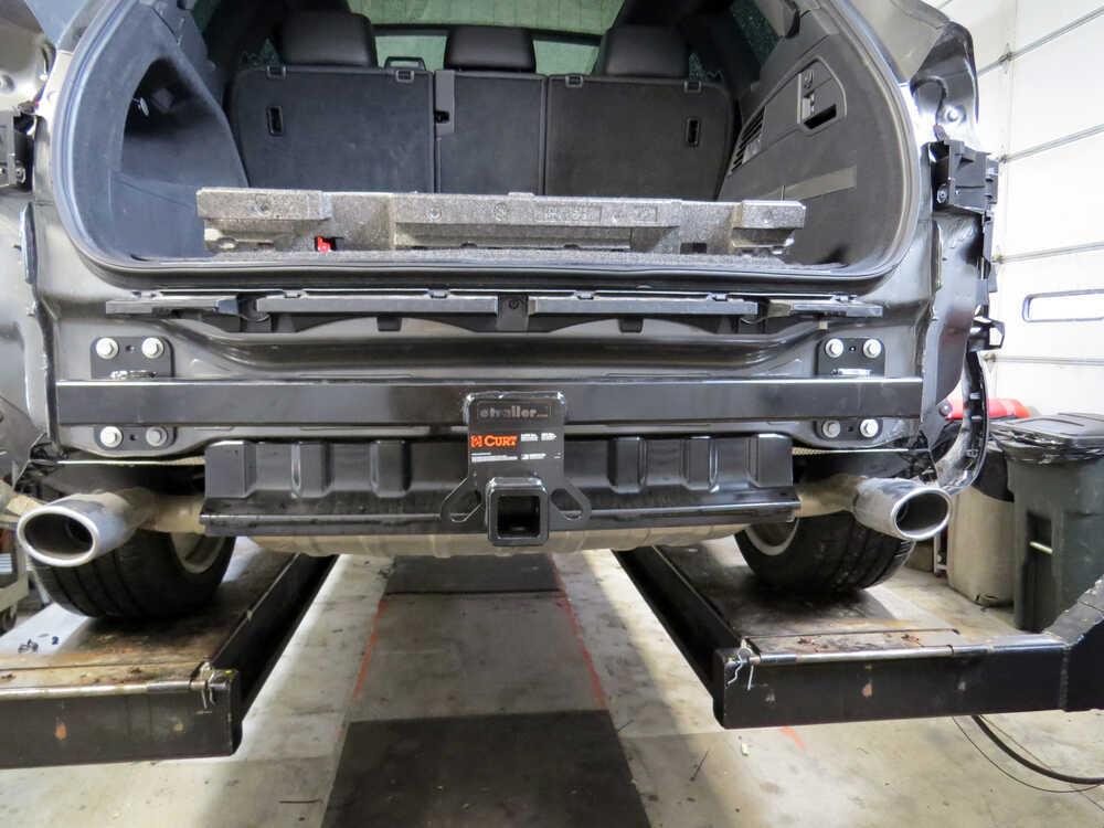 volkswagen touareg curt trailer hitch receiver custom fit class iii