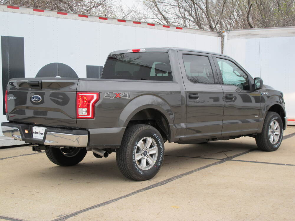 2017 ford f 150 curt trailer hitch receiver custom fit class iii 2. Black Bedroom Furniture Sets. Home Design Ideas