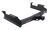 curt trailer hitch custom fit 2400 lbs wd tw receiver - class v xd 2 inch