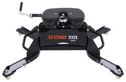 Curt Q25 5th Wheel Trailer Hitch for Ram Towing Prep Package - Dual Jaw - 25,000 lbs