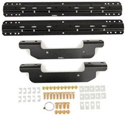 Curt Custom Fifth Wheel Installation Kit for Chevy/GMC - Carbide Finish