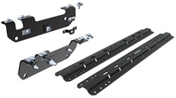Curt Custom 5th Wheel Installation Kit for Ford - Carbide Finish