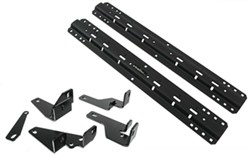 Curt Custom Fifth Wheel Installation Kit for Dodge Ram - Carbide Finish