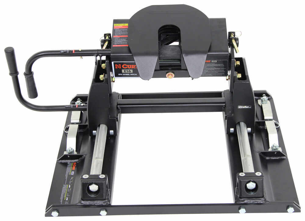 Curt Fifth Wheel Hitch >> Curt E16 5th Wheel Trailer Hitch w/ Slider for Ford Towing Prep Package - Slide Bar Jaw - 16,000 ...