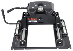 Curt Q16 5th Wheel Trailer Hitch w/ Slider for Ford Towing Prep Package - Dual Jaw - 16,000 lbs