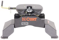 Curt Q24 5th Wheel Trailer Hitch with Ford OEM Legs - Dual Jaw - 24,000 lbs