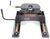curt fifth wheel sliding 17-1/2 - 21-1/2 inch tall q24 5th trailer hitch w/ r24 slider dual jaw 24 000 lbs