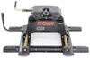 Curt Q20 5th Wheel Trailer Hitch w/ R20 Slider, Rails and Installation Kit - Dual Jaw - 20,000 lbs