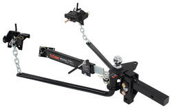 Curt MV Weight Distribution System w/ Friction Sway Control - Round <strong>Bar</strong> - 14K GTW, 1.4K TW - C17063