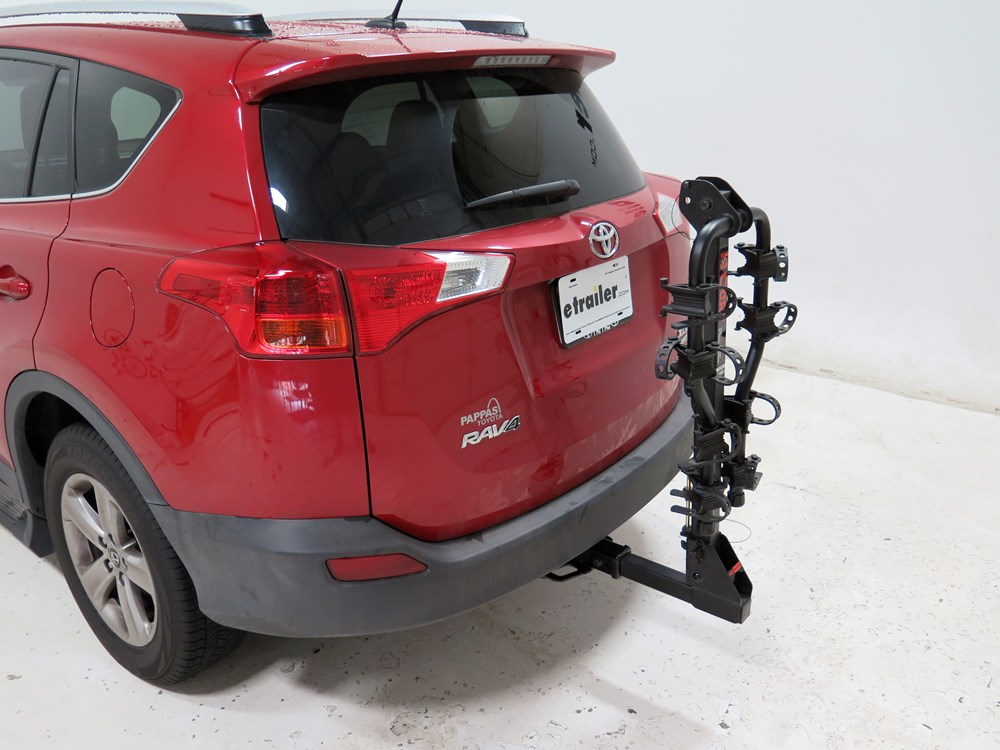 2015 Toyota Rav4 Curt Premium 4 Bike Rack For 2 U0026quot  Hitches