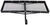 curt hitch cargo carrier fixed fits 1-1/4 inch 2 and