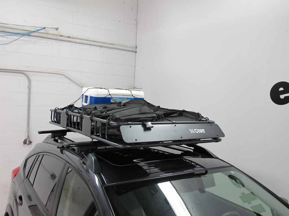 Curt Roof Mounted Cargo Basket  2 U0026quot  Long X 37 U0026quot  Wide X
