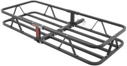 "17x46 Curt Cargo Carrier for 1-1/4"" and 2"" Hitches - Steel - 500 lbs - C18145"