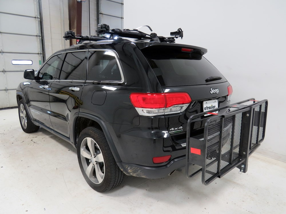 2012 chevrolet traverse 20x60 curt cargo carrier for 2 hitches steel folding 500 lbs. Black Bedroom Furniture Sets. Home Design Ideas