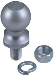 "1-7/8"" Hitch Ball - 3/4"" Diameter x 1-5/8"" Long Shank - Chrome - 2,000 lbs"