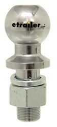 "2-5/16"" Hitch Ball - 1-1/4"" Diameter x 2-3/4"" Long Shank - Chrome - 20,000 lbs"