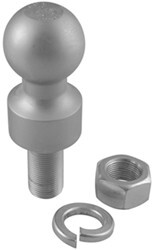 "2"" Hitch Ball - 1"" Rise - 1"" Diameter x 2-1/8"" Long Shank - 6,000 lbs"