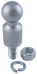 "2"" Hitch Ball - 2"" Rise - 1"" Diameter x 2-1/8"" Long Shank - 6,000 lbs"