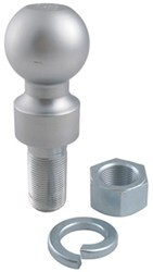 "2-5/16"" Hitch Ball - 1"" Rise - 1-1/4"" Diameter x 2-5/8"" Long Shank - 10,000 lbs"