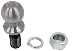 "2-5/16"" Hitch Ball - 1-1/4"" Diameter x 2-3/4"" Long Shank - Raw Finish - 30,000 lbs"