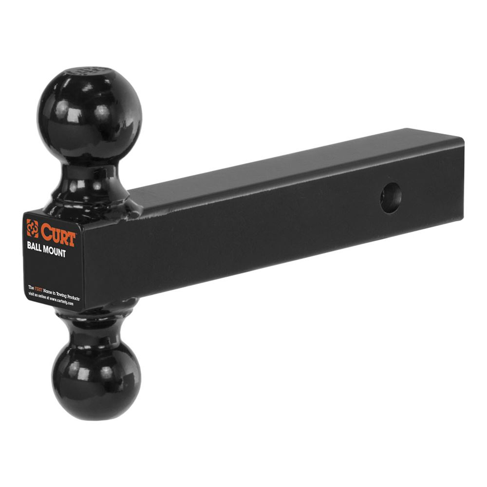 """Class Iv Hitch >> Curt Solid 2-Ball Mount for 2"""" Hitches - 2"""" and 2-5/16 ..."""