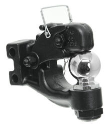 Curt Channel Mount Forged Pintle and Ball - 13,000 lbs
