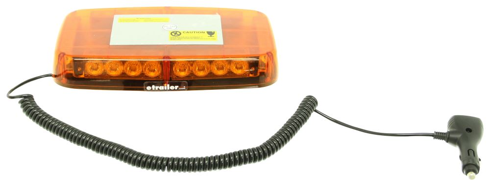 Blazer Mini Amber Warning Light Bar Led 12v Magnetic