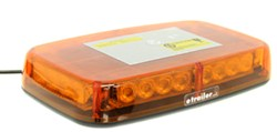 Blazer Mini Amber Warning Light Bar - LED - 12V - Magnetic Mount - 7 Flash Patterns