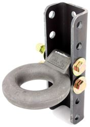 "Curt Lunette Ring with 5-Position Adjustable Channel - 3"" Diameter - 12,000 lbs"