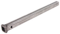 "Curt Solid Steel 1-1/4"" Hitch Bar with Raw Finish - 24"" Long"