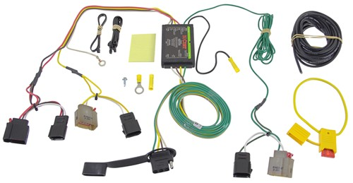 Wiring Harness For Jeep Compass : Jeep compass custom fit vehicle wiring curt