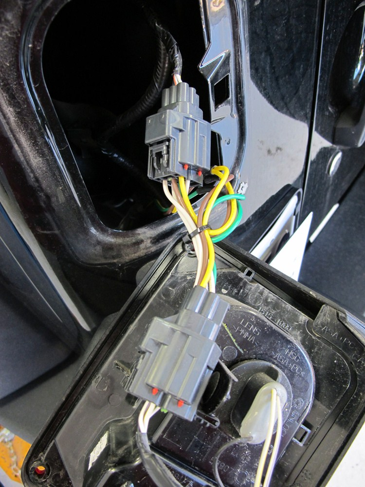 2012 Jeep Wrangler Curt T Connector Vehicle Wiring Harness