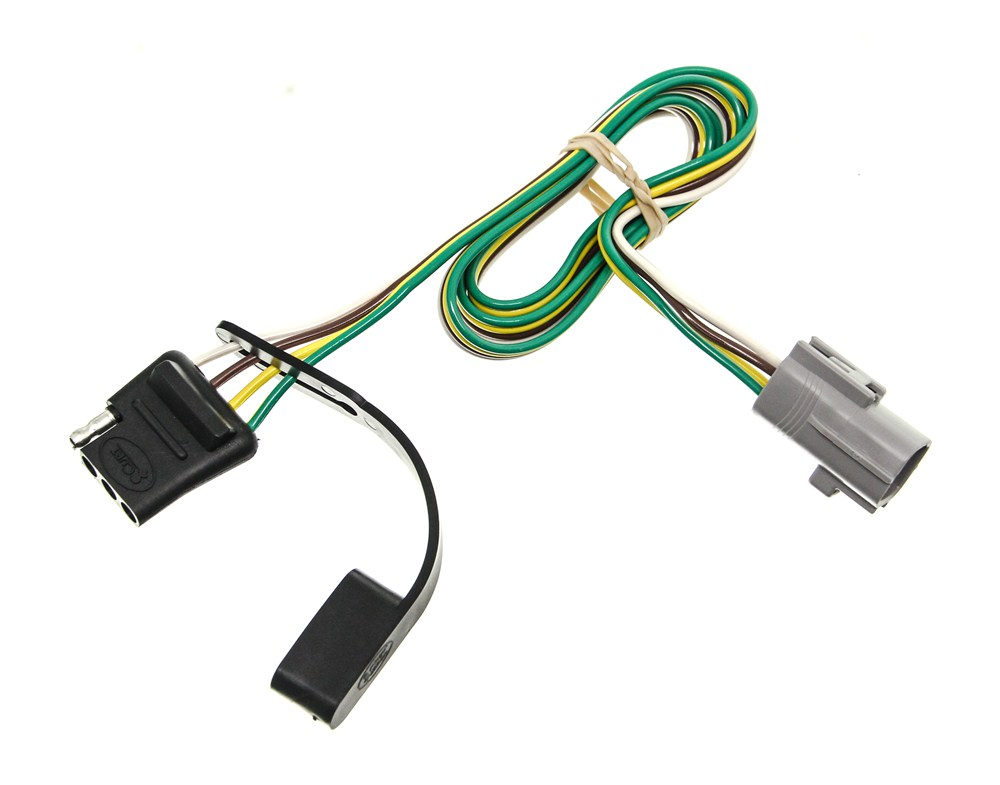 curt tconnector vehicle wiring harness with 4pole flat trailer curt t-connector vehicle wiring harness for factory tow ... mopar jeep wrangler tow vehicle wiring harness
