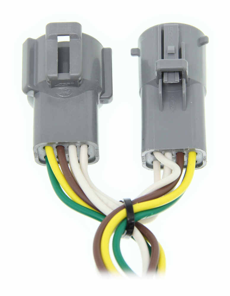 towed vehicle wiring harness curt t-connector vehicle wiring harness with 4-pole flat ... curt tconnector vehicle wiring harness with 4pole flat trailer #5