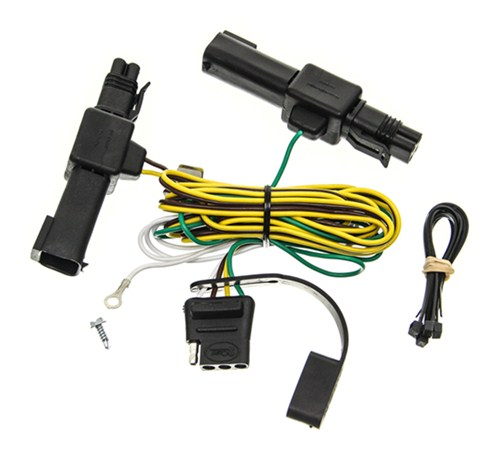 1989 dodge dakota curt t connector vehicle wiring harness with 4 pole flat trailer connector. Black Bedroom Furniture Sets. Home Design Ideas