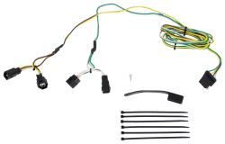 curt t connector vehicle wiring harness with 4 pole flat trailer connector rh etrailer com dodge ram wiring harness connectors dodge ram 1500 wiring harness