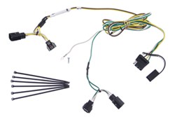 Curt 2002 Jeep Wrangler Custom Fit Vehicle Wiring