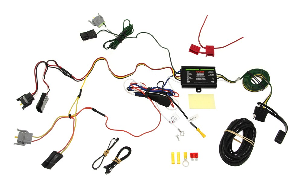 Trailer Wiring Harness For Ford Windstar : Ford windstar custom fit vehicle wiring curt
