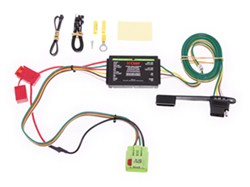 trailer wiring harness recommendation for a 2001 jeep grand cherokee jeep cherokee starter wire harness curt t connector vehicle wiring harness with 4 pole flat trailer connector