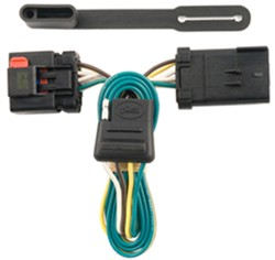 trailer wiring harness for a 2007 dodge durango without factory tow rh etrailer com 7 Pin Tow Wiring 7 Pin Tow Wiring Diagram