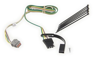 replacement wiring harness for curt t connector nissan. Black Bedroom Furniture Sets. Home Design Ideas