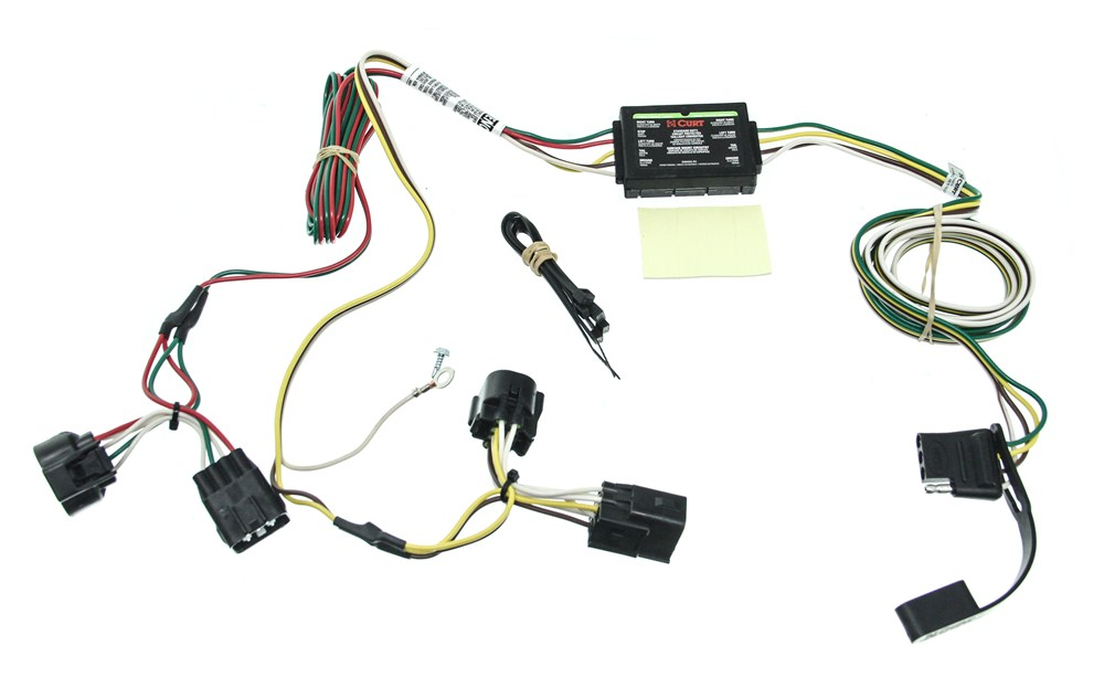 Trailer Wiring Harness For 2011 Jeep Liberty : Jeep liberty mopar trailer hitch harness free