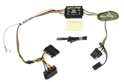 Trailer wiring harness installation 2006 chevrolet colorado video curt t connector vehicle wiring harness with 4 pole flat trailer connector swarovskicordoba Image collections