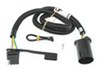 Curt T-Connector Vehicle Wiring Harness for Factory Tow Package - 4-Pole Flat Trailer Connector