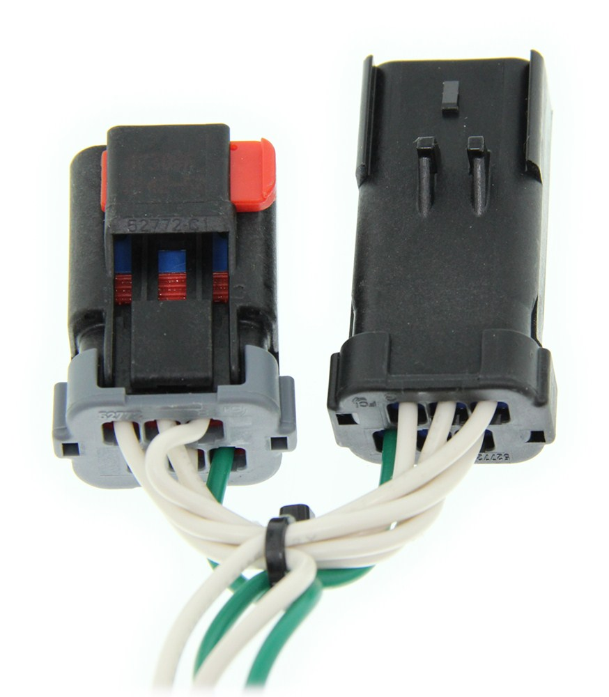 curt tconnector vehicle wiring harness with 4pole flat trailer curt t-connector vehicle wiring harness with 4-pole flat ... #13