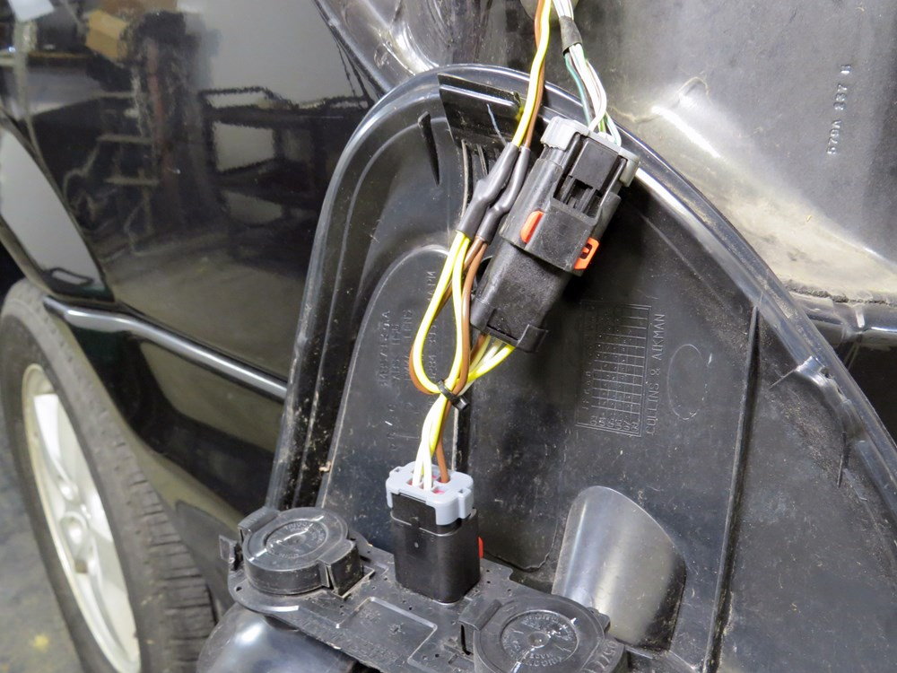 2007 Chrysler Town And Country Custom Fit Vehicle Wiring