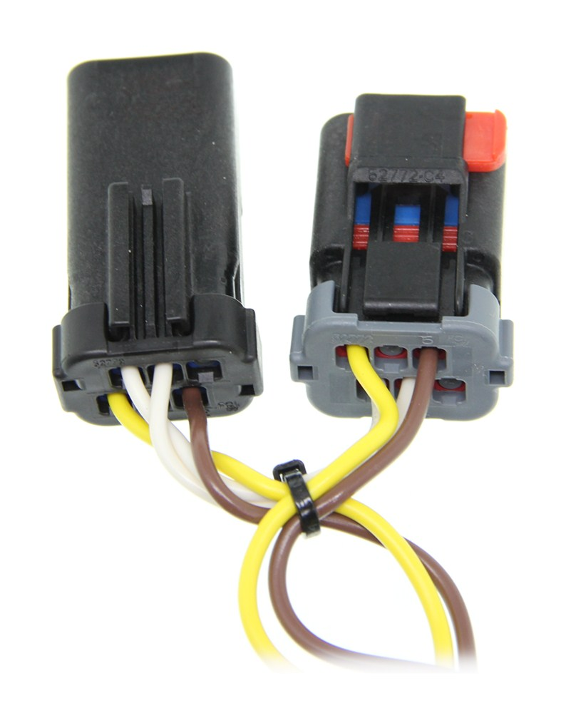 curt tconnector vehicle wiring harness with 4pole flat trailer curt t-connector vehicle wiring harness with 4-pole flat ... 4l60e wiring harness with controller
