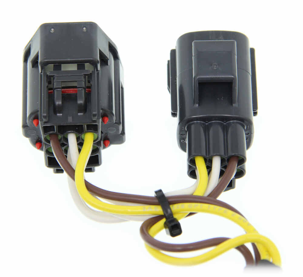 curt tconnector vehicle wiring harness with 4pole flat trailer 4l60e wiring harness with no computer 2005 dodge magnum curt t-connector vehicle wiring harness ... #14