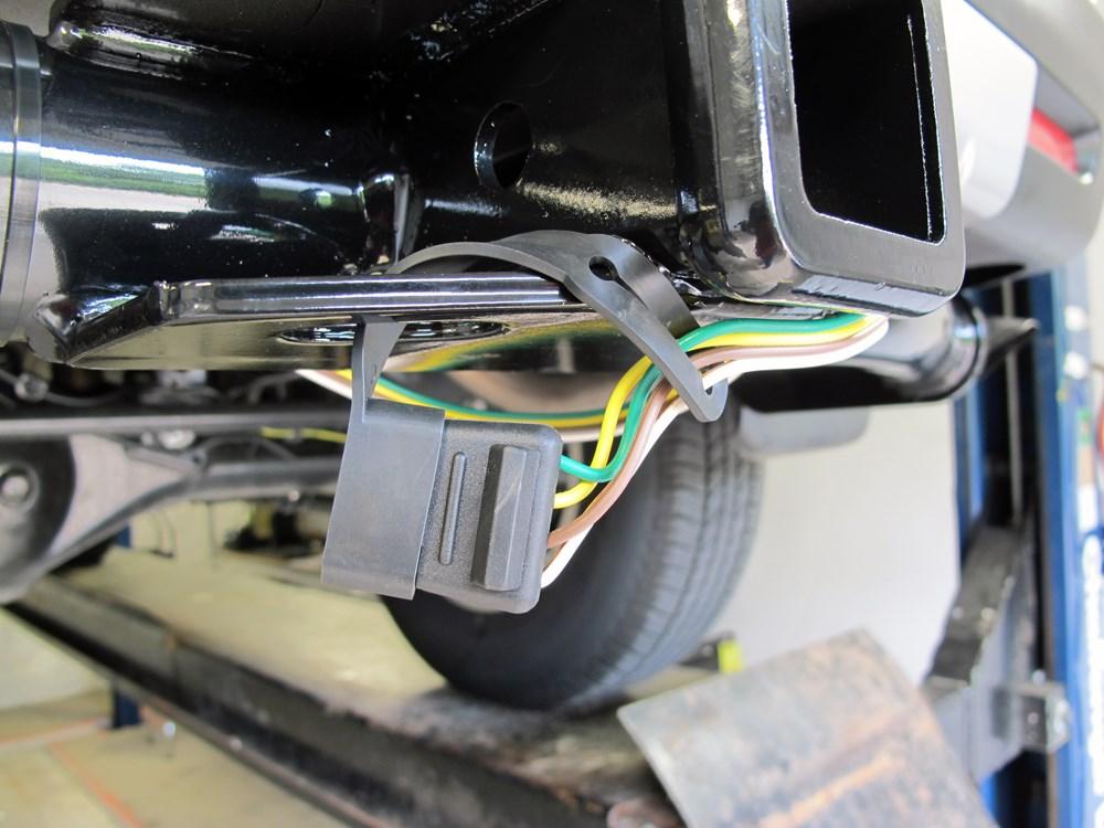 Trailer Wiring Harness For Toyota Land Cruiser : Toyota fj cruiser custom fit vehicle wiring curt