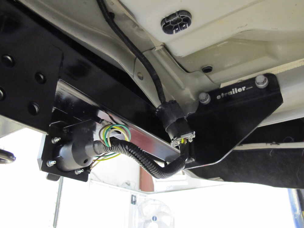 2012 Jeep Grand Cherokee Curt T-connector Vehicle Wiring Harness For Factory Tow Package